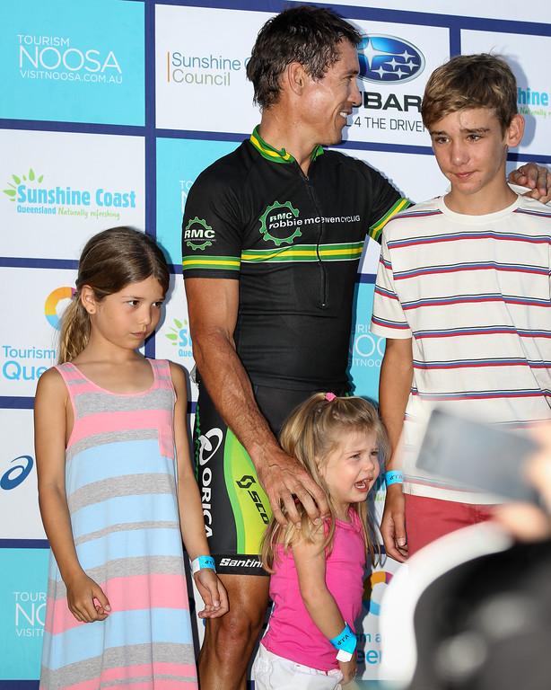 "Robbie McEwen - Noosa Subaru Men's Australian Open Criterium (Cycling) - 2013 Super Saturday at the Noosa Triathlon Multi Sport Festival, Noosa Heads, Sunshine Coast, Queensland, Australia. Camera 2. Photos by Des Thureson - <a href=""http://disci.smugmug.com"">http://disci.smugmug.com</a>"