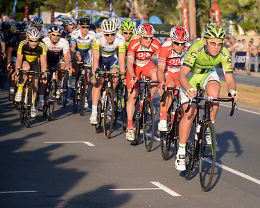 Subaru Men's Australian Open Criterium (Cycling) - 2013 Super Saturday at the Noosa Triathlon Multi Sport Festival, Noosa Heads, Sunshine Coast, Queensland, Australia. Camera 1. Photos by Des Thureson - http://disci.smugmug.com