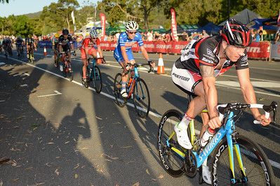 2014 SUBARU Australian Open Criterium Men - 2014 Super Saturday at the Noosa Triathlon Multi Sport Festival, Noosa Heads, Sunshine Coast, Queensland, Australia. Camera 1. Photos by Des Thureson - http://disci.smugmug.com - Camera 1.