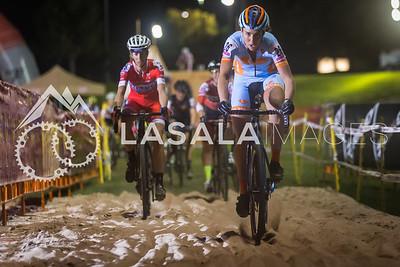 Erica Zaveta in the sand