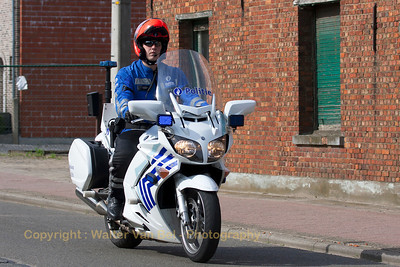 Gemotoriseerde politie...
