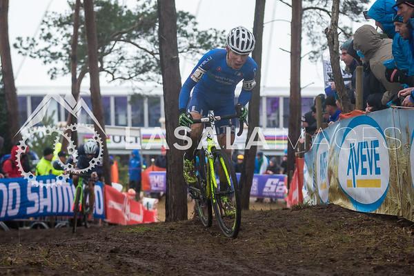 Jakob Dorigoni ITA during the men's junior race at the 2016 Cyclo-cross World Championships on January 30, in Zolder, Belgium. Photo: Matthew Lasala/Lasala Images