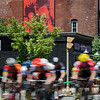 Mens 40+ racers whip around the Upper Common during the 55th annual Longsjo Classic in Fitchburg on Sunday afternoon. SENTINEL & ENTERPRISE / Ashley Green