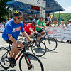 Mayors Dean Mazzarella, Steve DiNatale and Joe Petty take off for the Mayor's Race during the 55th annual Longsjo Classic in Fitchburg on Sunday afternoon. SENTINEL & ENTERPRISE / Ashley Green