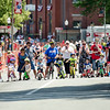 Children line up for the kids race during the 55th annual Longsjo Classic in Fitchburg on Sunday afternoon. SENTINEL & ENTERPRISE / Ashley Green