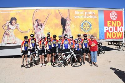 37 Mile Ride to the finish - 2017 El Tour De Tucson
