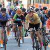 The Start of the women's Pro 1 2 3 race at the Longsjo in Worcester on Saturday night. SENTINEL & ENTERPRISE/JOHN LOVE