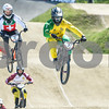 08-05-2016: Wielrennen: UCI BMX Supercross World Cup: Papendal<br /> <br /> Sam WILLOUGHBY from Australia, David GRAF from Switzerland<br /> <br /> Copyright Orange Pictures / Andy Astfalck