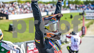 08-05-2016: Wielrennen: UCI BMX Supercross World Cup: Papendal<br /> <br /> Carlos Alberto RAMIREZ YEPES  from Columbia<br /> <br /> Copyright Orange Pictures / Andy Astfalck