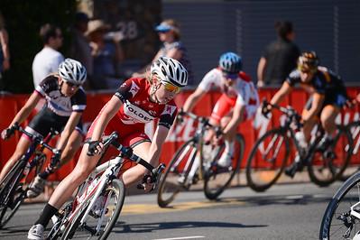 Jenelle Crooks - 2014 SUBARU Australian Open Criterium - Women - Cycling - 2014 Super Saturday at the Noosa Triathlon Multi Sport Festival, Noosa Heads, Sunshine Coast, Queensland, Australia. Camera 1. Photos by Des Thureson - http://disci.smugmug.com - Camera 1.