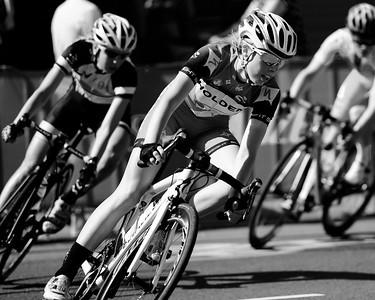 Jenelle Crooks - 2014 SUBARU Australian Open Criterium - Women - Cycling - 2014 Super Saturday at the Noosa Triathlon Multi Sport Festival, Noosa Heads, Sunshine Coast, Queensland, Australia. Camera 1. Photos by Des Thureson - http://disci.smugmug.com - Camera 1. (Kodak Panatomic X -Exp 1986)