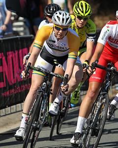 Sarah Roy - 2014 SUBARU Australian Open Criterium - Women - Cycling - 2014 Super Saturday at the Noosa Triathlon Multi Sport Festival, Noosa Heads, Sunshine Coast, Queensland, Australia. Camera 2. Photos by Des Thureson - http://disci.smugmug.com - Camera 2.