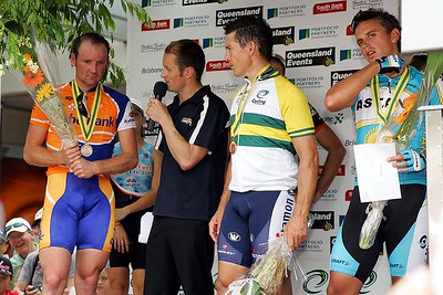 Graeme Brown, Robbie McEwen & Allan Davis. Interviewer: David McKenzie