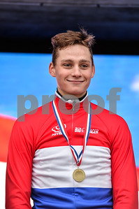 Mathieu van der Poel is the Dutch Cyclocross champion for 2016 at the Mens Elite CycloCross Dutch National Championships held in Hellendoorn, the Netherlands on the 10th of January 2016
