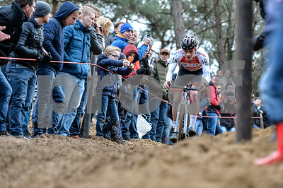 Mens Elite CycloCross Dutch National Champion held in Hellendoorn, the Netherlands on the 10th of January 2016