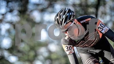 Roel van der Stegen at the U23 CycloCross Dutch National Champion held in Hellendoorn, the Netherlands on the 10th of January 2016