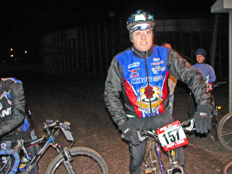 Ian ready to go!