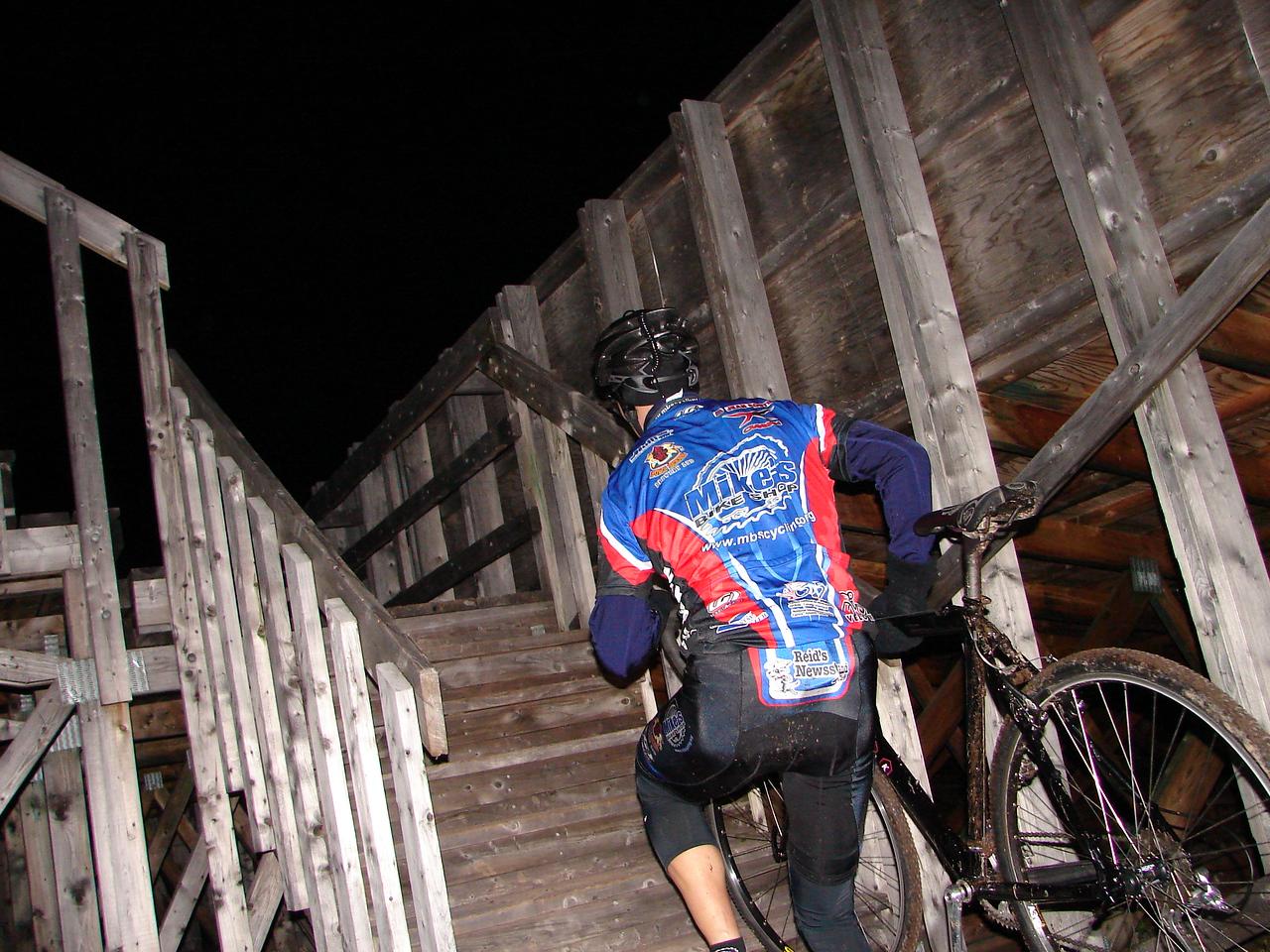 Mike making it look easy