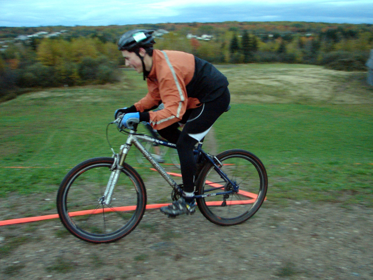 Smile/Grimace? whatever it takes to get you over the hills.