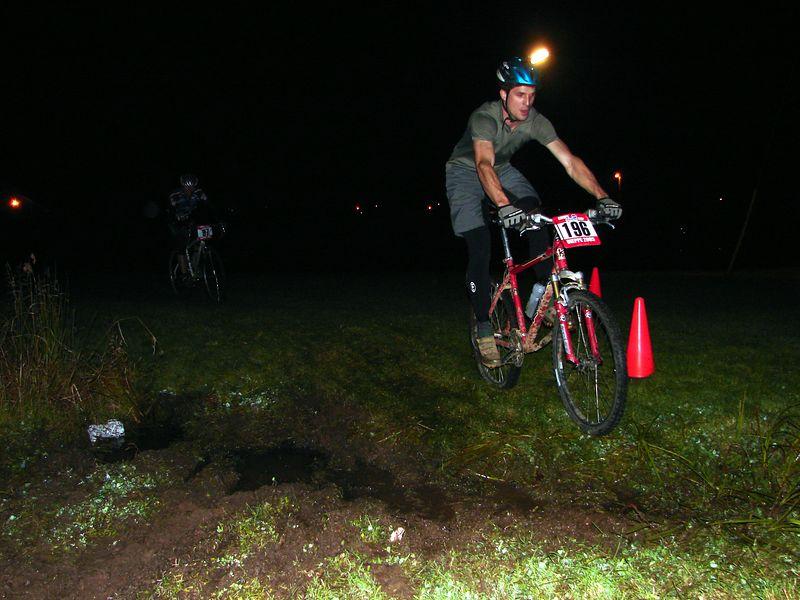Dan Richard hanging off the back. Dans a wicked multi-discipline athlete (bike/run/ice/rock/ski you name it.)