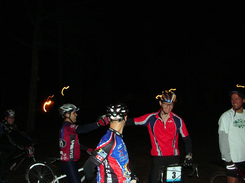 """The Skid Contest proved to be a huge nailbiter as Jeff Curries amazing skid was beaten only by 6"""" from the now 2 time winner Patrice Boudreau. This should obviously be an olympic demo sport for 2008."""