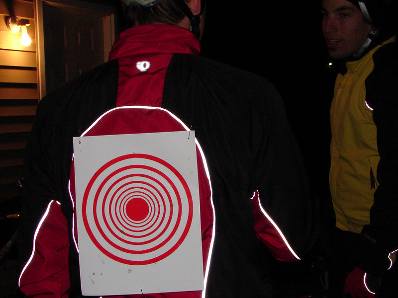 Patrice Boudreau wearing the Leaders Target as stated in the unstated rules.