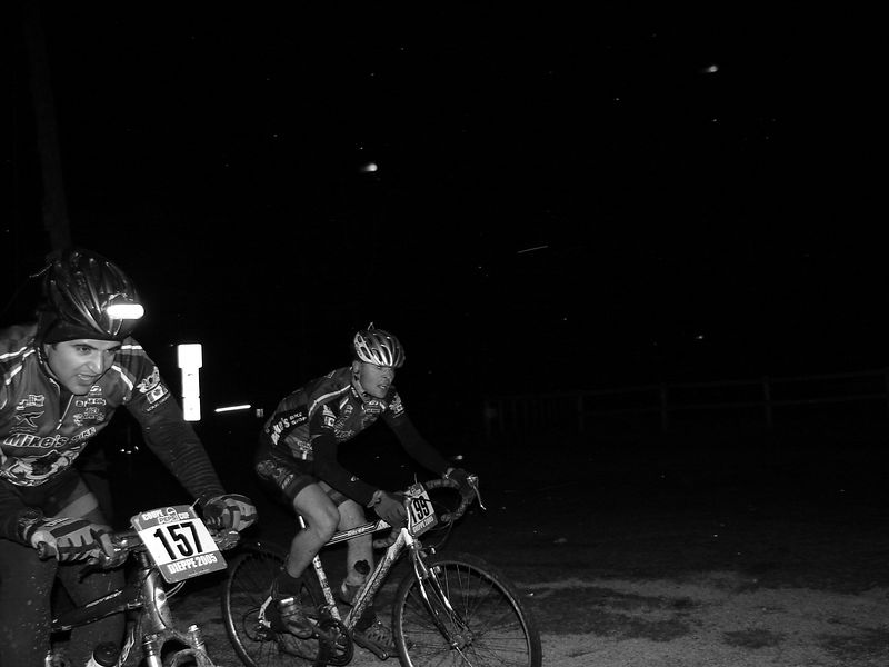 Pablo and RJ. This of all the photos encapsulates how this event went down. Most everyone had someone to race against for the duration. The size of the pack and the short and twisty nature of the course ensured that you were always insight of other racers.