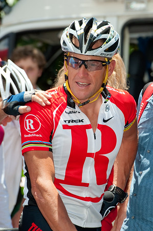 "Lance Armstrong - Queensland Ride Relief, led by Lance Armstrong, Robbie McEwen & Allan Davis; Brisbane, Queensland, Australia; Monday 24 January 2011. Photos by Des Thureson - <a href=""http://disci.smugmug.com"">http://disci.smugmug.com</a>"