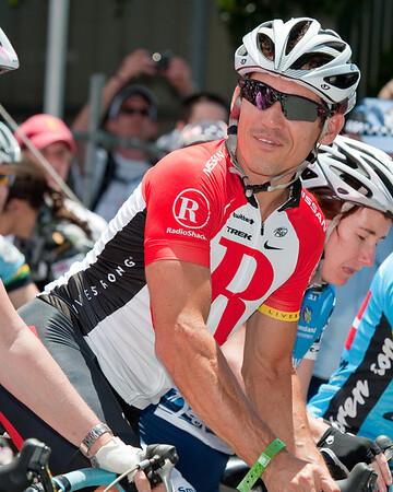 "Robbie McEwen - Queensland Ride Relief, led by Lance Armstrong, Robbie McEwen & Allan Davis; Brisbane, Queensland, Australia; Monday 24 January 2011. Photos by Des Thureson - <a href=""http://disci.smugmug.com"">http://disci.smugmug.com</a>"