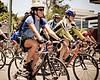 "10x8 - Queensland Ride Relief, led by Lance Armstrong, Robbie McEwen & Allan Davis; Brisbane, Queensland, Australia; Monday 24 January 2011. Photos by Des Thureson - <a href=""http://disci.smugmug.com"">http://disci.smugmug.com</a>. PH Surreal Moment."