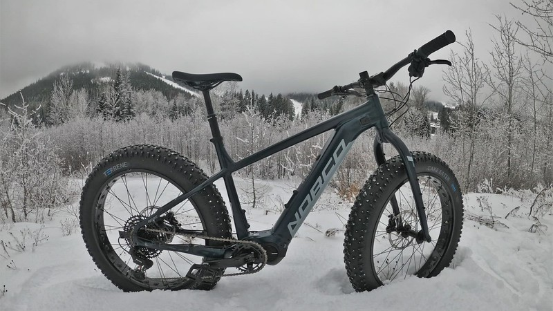Rossland ride on the brand new winter steed