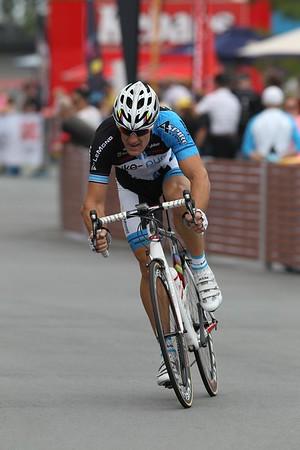 """Gold Coast Festival of Cycling; Carrara, Gold Coast, Queensland, Australia; 28 September 2013. Camera 2. Photos by Des Thureson - <a href=""""http://disci.smugmug.com"""">http://disci.smugmug.com</a>."""