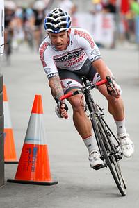 Criterium, Elite Men A - Gold Coast Festival of Cycling; Carrara, Gold Coast, Queensland, Australia; 28 September 2013. Camera 2. Photos by Des Thureson - http://disci.smugmug.com. Alan West Alan West