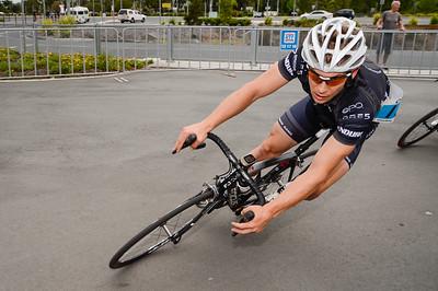 Criterium, Elite Men A - Gold Coast Festival of Cycling; Carrara, Gold Coast, Queensland, Australia; 28 September 2013. Camera 1. Photos by Des Thureson - http://disci.smugmug.com. Chris Myatt
