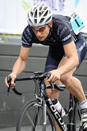 "Criterium, Elite Men A - Gold Coast Festival of Cycling; Carrara, Gold Coast, Queensland, Australia; 28 September 2013. Camera 2. Photos by Des Thureson - <a href=""http://disci.smugmug.com"">http://disci.smugmug.com</a>. Chris Myatt"