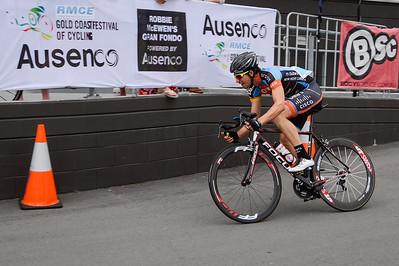 Criterium, Elite Men A - Gold Coast Festival of Cycling; Carrara, Gold Coast, Queensland, Australia; 28 September 2013. Camera 1. Photos by Des Thureson - http://disci.smugmug.com. Kyle Ivan Bridgwood