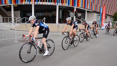 Kyle Ivan Bridgwood - Criterium, Elite Men A - Gold Coast Festival of Cycling; Carrara, Gold Coast, Queensland, Australia; 28 September 2013. Camera 1. Photos by Des Thureson - http://disci.smugmug.com.