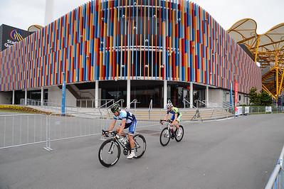 Robbie McEwen - Criterium, Elite Men A - Gold Coast Festival of Cycling; Carrara, Gold Coast, Queensland, Australia; 28 September 2013. Camera 1. Photos by Des Thureson - http://disci.smugmug.com.