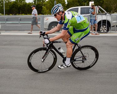 Criterium, Elite Men A - Gold Coast Festival of Cycling; Carrara, Gold Coast, Queensland, Australia; 28 September 2013. Camera 1. Photos by Des Thureson - http://disci.smugmug.com.