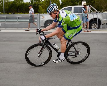 Criterium, Elite Men A - Gold Coast Festival of Cycling; Carrara, Gold Coast, Queensland, Australia; 28 September 2013. Camera 1. Photos by Des Thureson - http://disci.smugmug.com.