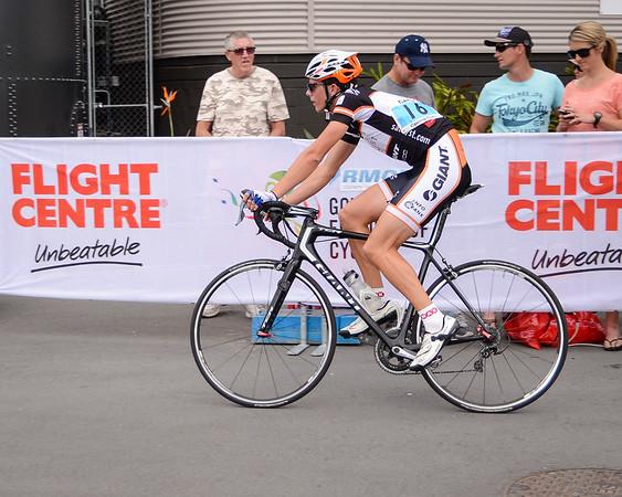 "Criterium, Elite Men A - Gold Coast Festival of Cycling; Carrara, Gold Coast, Queensland, Australia; 28 September 2013. Camera 1. Photos by Des Thureson - <a href=""http://disci.smugmug.com"">http://disci.smugmug.com</a>."