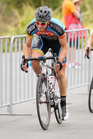 "Criterium, Elite Men A - Gold Coast Festival of Cycling; Carrara, Gold Coast, Queensland, Australia; 28 September 2013. Camera 2. Photos by Des Thureson - <a href=""http://disci.smugmug.com"">http://disci.smugmug.com</a>. Kyle Ivan Bridgwood"