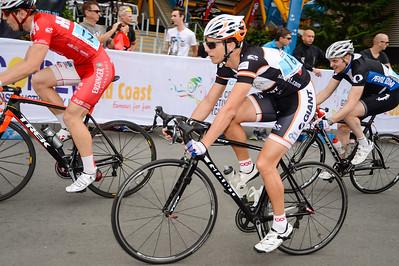 Griff Moore - Criterium, Elite Men A - Gold Coast Festival of Cycling; Carrara, Gold Coast, Queensland, Australia; 28 September 2013. Camera 1. Photos by Des Thureson - http://disci.smugmug.com.
