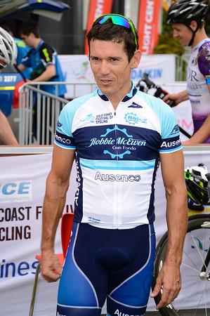 """Robbie McEwen - Criterium, Elite Men A - Gold Coast Festival of Cycling; Carrara, Gold Coast, Queensland, Australia; 28 September 2013. Camera 1. Photos by Des Thureson - <a href=""""http://disci.smugmug.com"""">http://disci.smugmug.com</a>."""