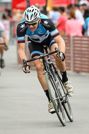 "Criterium - Gold Coast Festival of Cycling; Carrara, Gold Coast, Queensland, Australia; 28 September 2013. Camera 2. Photos by Des Thureson - <a href=""http://disci.smugmug.com"">http://disci.smugmug.com</a>."