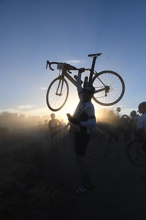 104 mile ride to the Santa Cruz Crossing - 2017 El Tour De Tucson