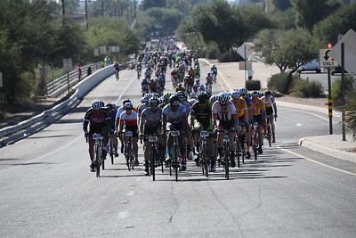 54 Mile to the start of the 37- 2017 El Tour