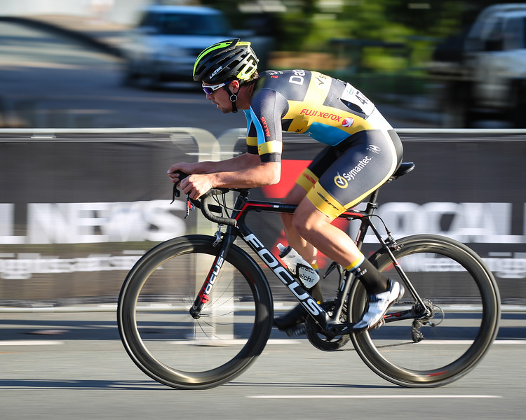 "Speed Blur - attempting a slow shutter speed whilst panning the camera - 2015 Noosa Australian Open Criterium, Cycling, Men - 2015 Super Saturday at the Noosa Triathlon Multi Sport Festival, Noosa Heads, Sunshine Coast, Queensland, Australia. Camera 2. Photos by Des Thureson - <a href=""http://disci.smugmug.com"">http://disci.smugmug.com</a>"