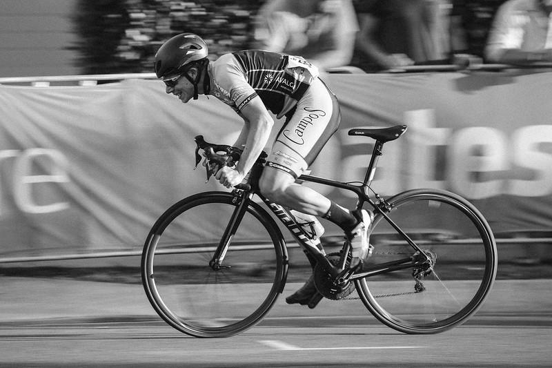 """N - TRI-X⁺²"" - Speed Blur - Panning the camera with a slow shutter speed - SUBARU Australian Open Criterium - Men - Cycling - Super Saturday at the Noosa Triathlon Multi Sport Festival, Noosa Heads, Sunshine Coast, Queensland, Australia. Saturday 29 October 2016. - Camera 2"
