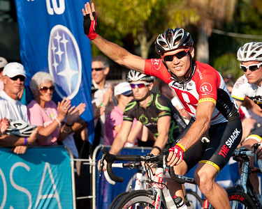 Robbie McEwen - Subaru Noosa Men's Cycling Grand Prix Criterium - 2011 Super Saturday at the Noosa Triathlon Multi Sport Festival, Noosa Heads, Sunshine Coast, Queensland, Australia; 29 October 2011.